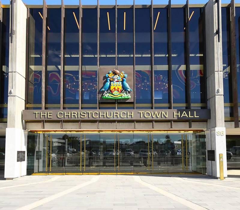 Vbase Town Hall Entrance