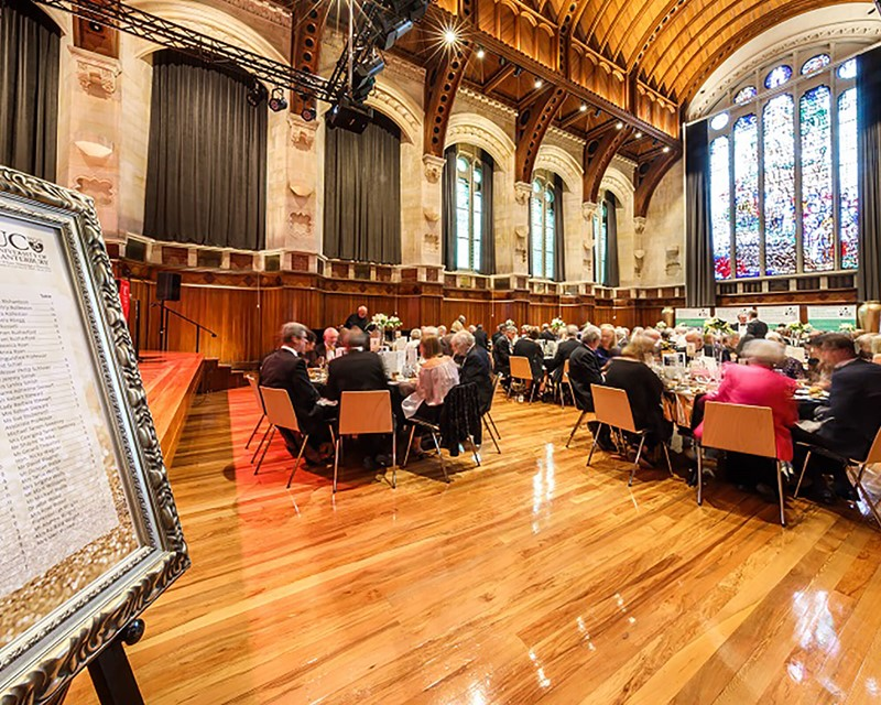 The Arts Centre Great Hall Banquet