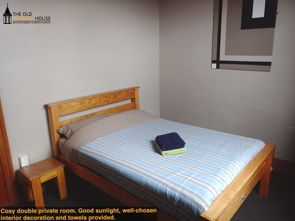 Spacious double rooms, with shared or private bathroom facilities.