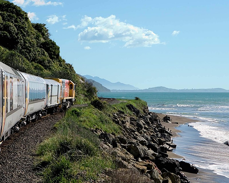 Kiwirail Great Journeys of New Zealand Coastal Pacific