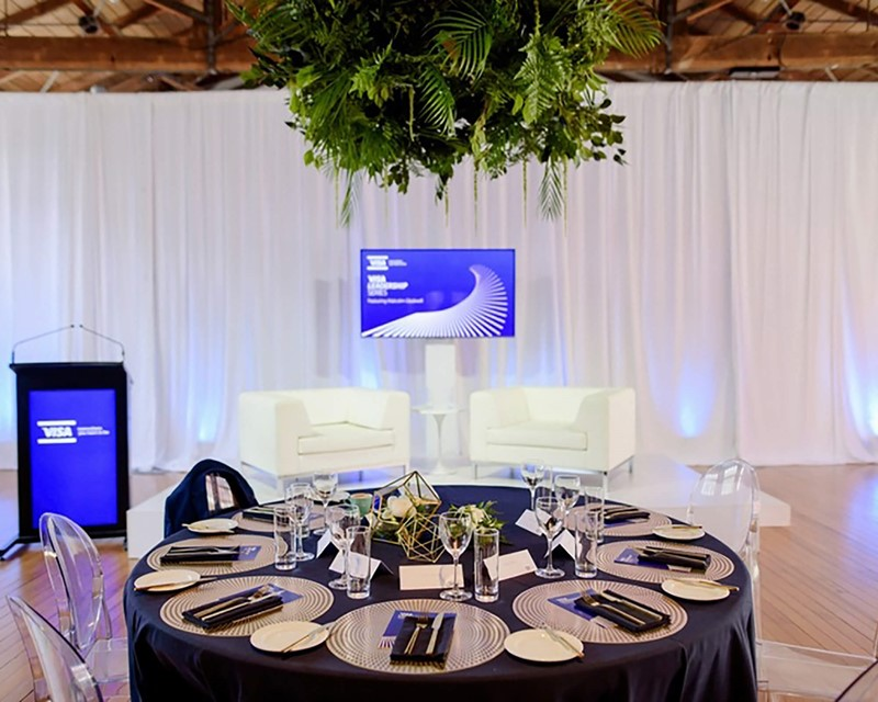 Avenues Event Management Caberet and Lecturn