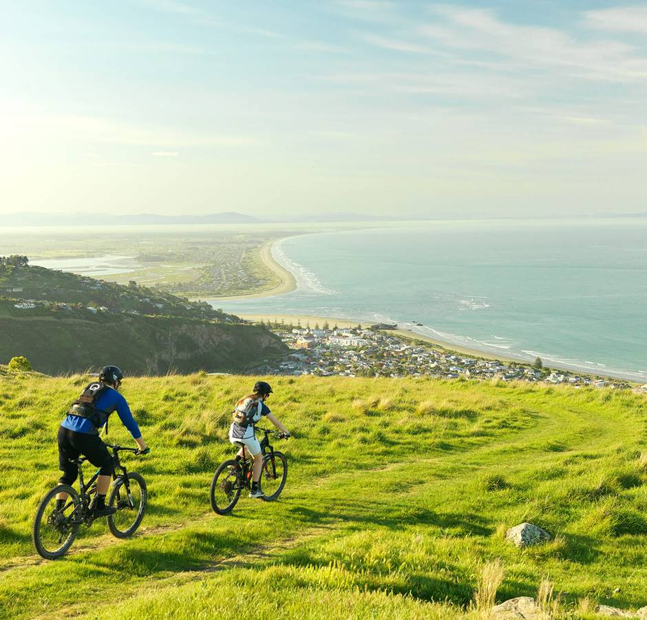 Hero Christchurch Port Hills Mountain Biking