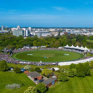 Hero Christchurch Hagley Oval Drone