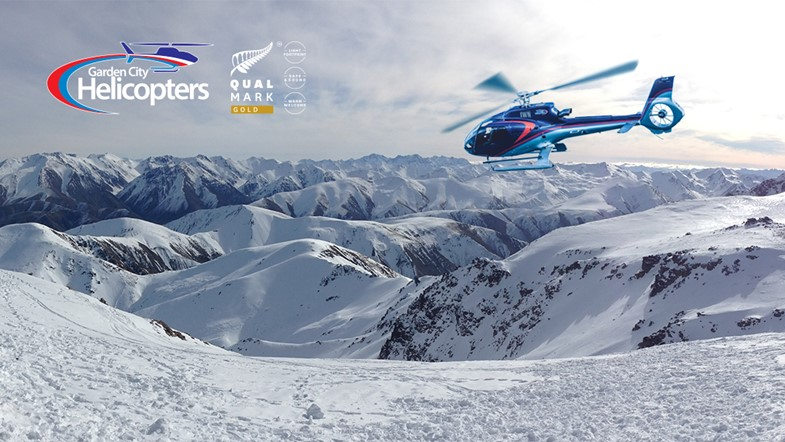 Enjoy breathtaking views of the snow capped Southern Alps.