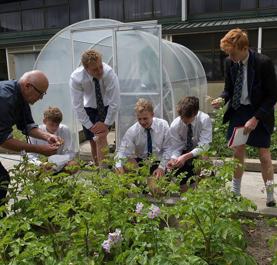 Christchurch Boys High School Outdoor Class