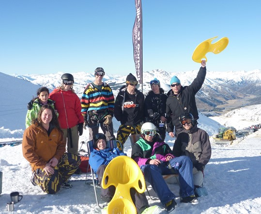 Fun in the snow at Hanmer Springs Ski Area