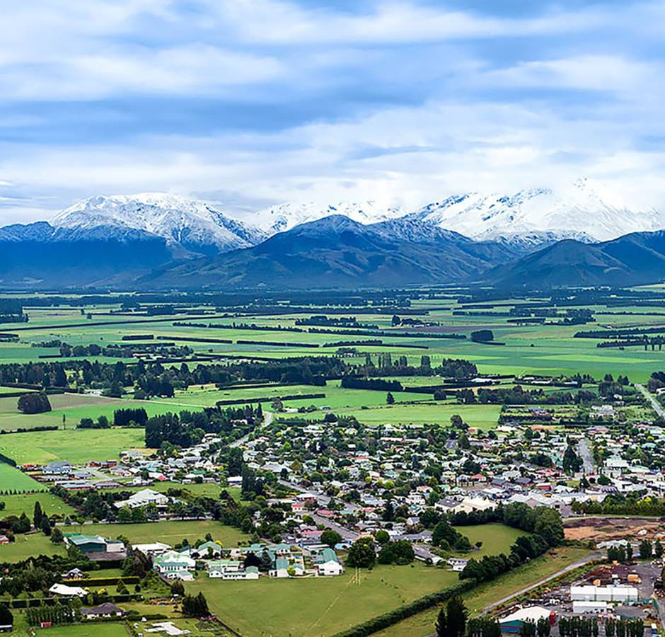 Study Mount Hutt College Arial