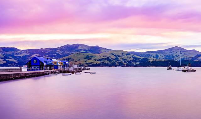 Akaroa Harbour Skies