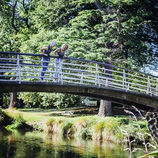 Christchurch Botanic Garden Footbridge