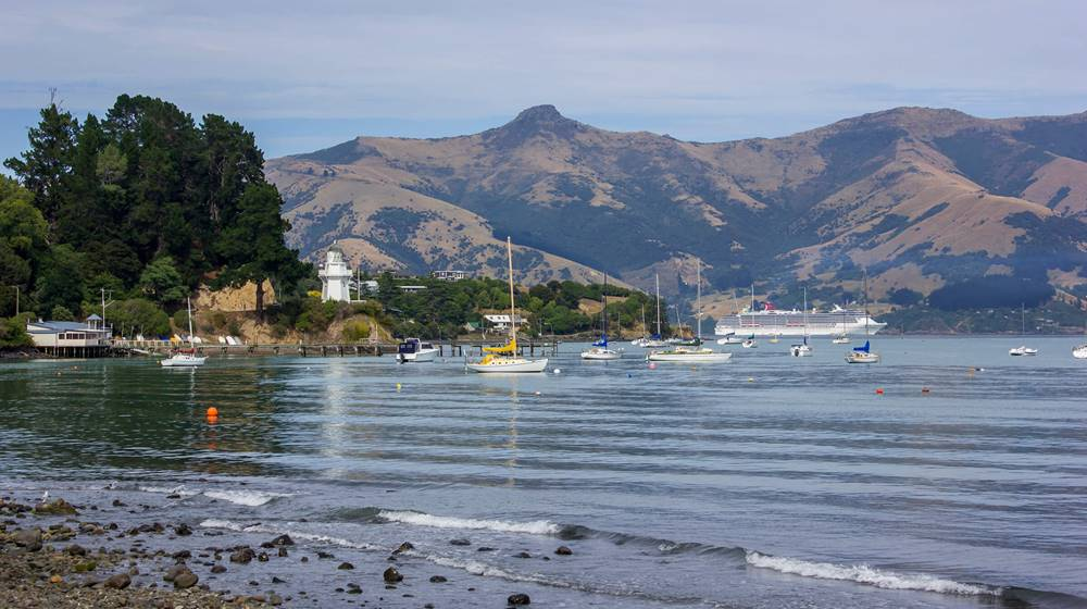 Akaroa Carnival Spirit Cruise Ship