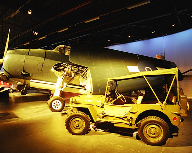 Air Force Museum of New Zealand Aircraft Hall