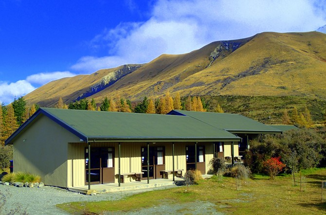 Self contained accommodation close to Mt Cook National Park.