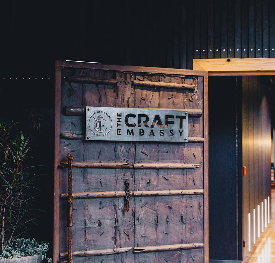 Craft Embassy Bar Door