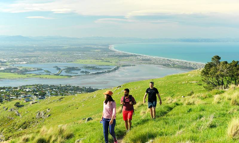 Hero Christchurch Port Hills Walking