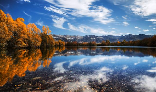 Mackenzie Twizel Mirrored Lake photo by Rachel Stewart