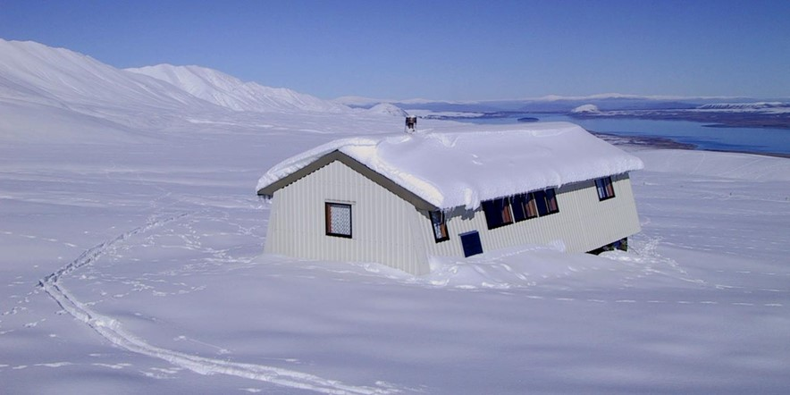 Rex Simpson Hut - private and heated
