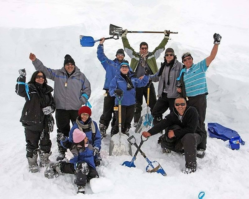 Eventionz Winter Snow Teambuilding