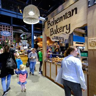 Christchurch Riverside Market Bohemian Bakery
