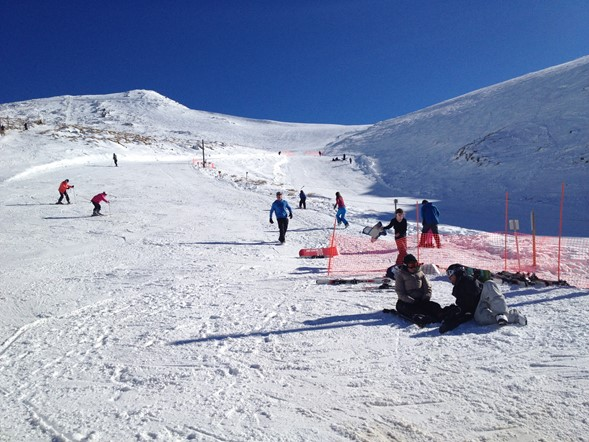 Learners tow at Hanmer Springs Ski Area