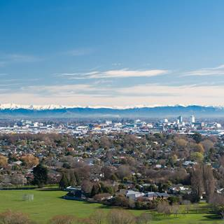 Christchurch City Landscape View