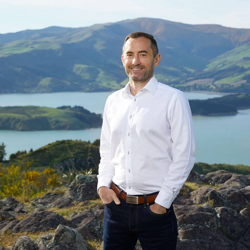 Boyd Warren ChristchurchNZ's General Manager of Commercial