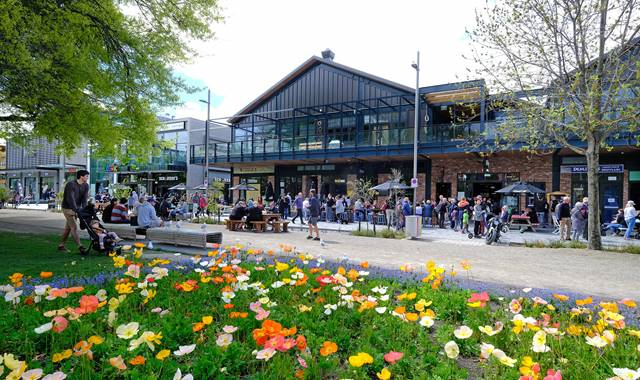 Riverside Market in Christchurch