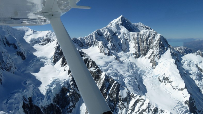 Aoraki Mt Cook, New Zealand's highest mountain