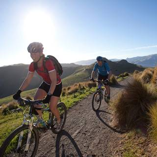 Christchurch Port Hills Duo Cycling