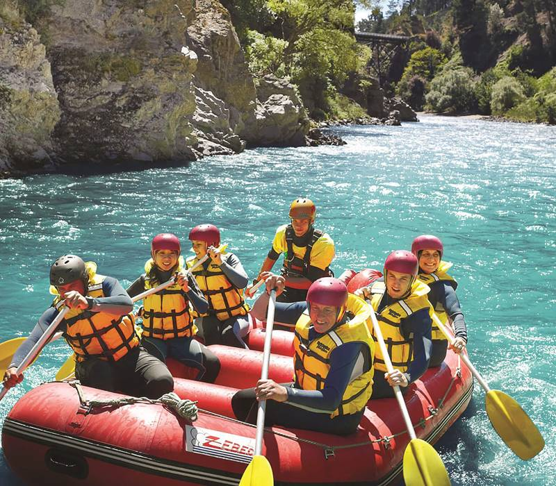 Hanmer Springs Attractions Rafting Closeup