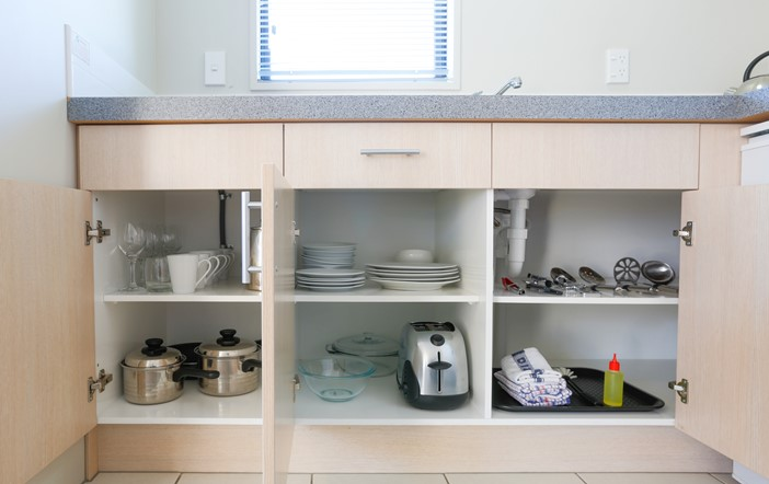 Bella Vista Ashburton - Kitchenette Amenities