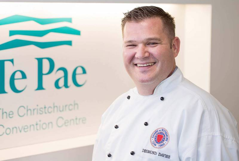 Convention Bureau News Desmond Davies Executive Chef
