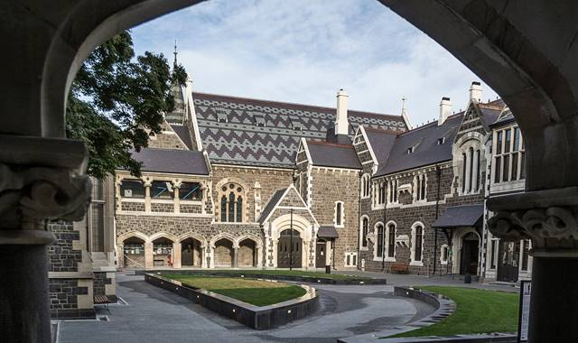 Christchurch Arts Centre North Quad