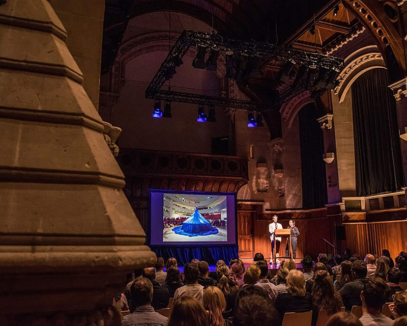 The Arts Centre Great Hall Plenary