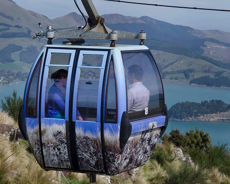 Christchurch Attractions Gondola Cabin
