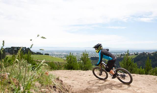 Christchurch Mountain Biking Nick Middleton