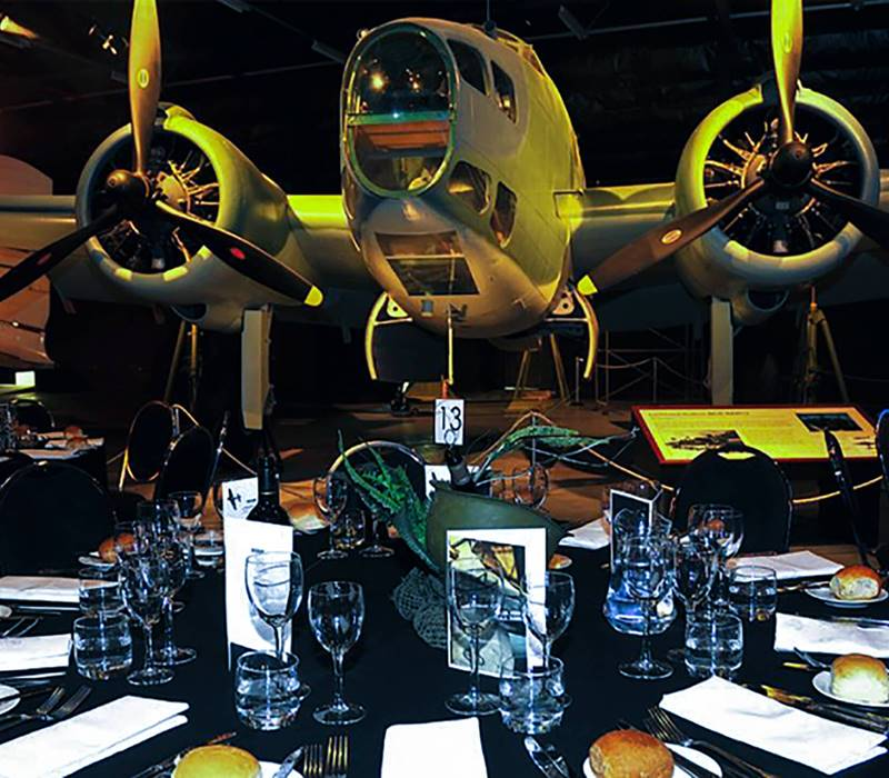 Air Force Museum of New Zealand Banquet Style