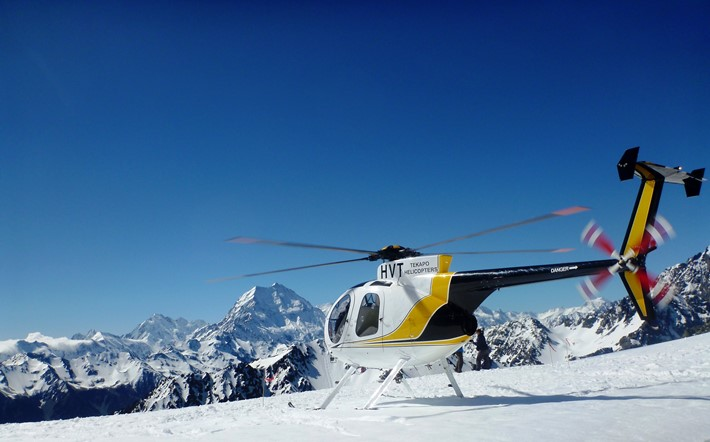 One of our most popular snow landing sites