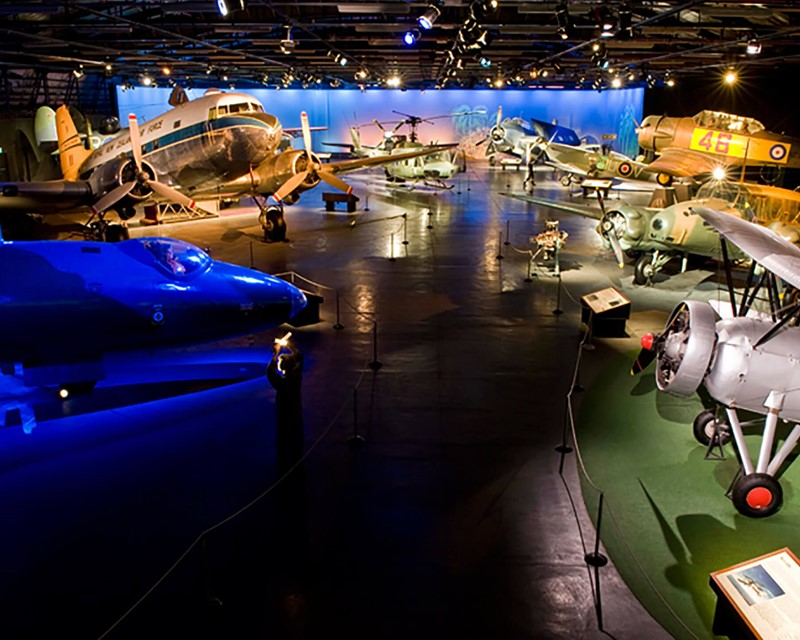 Air Force Museum of New Zealand Main Gallery