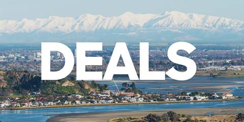 Christchurch & Canterbury Deals