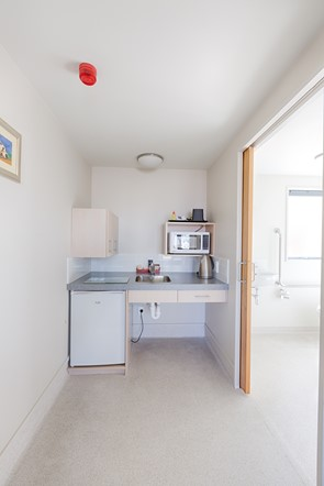 Bella Vista Ashburton - Access Twin Studio - Kitchenette