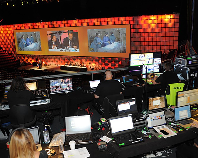 The Conference Company Broadcasting Live Operation