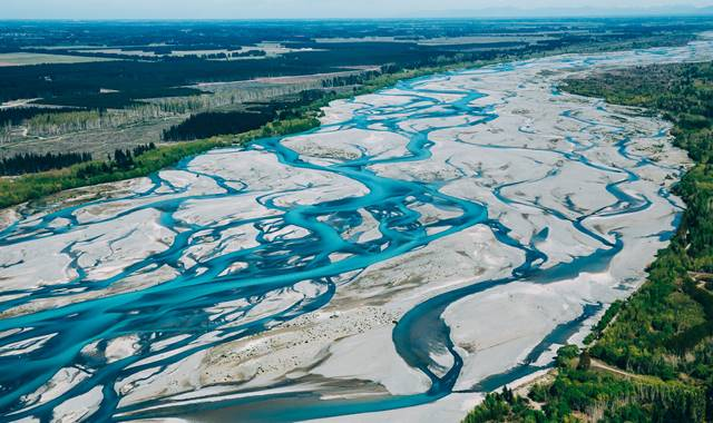 South Canterbury Braided River