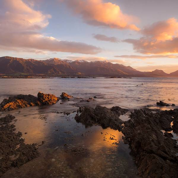 Sunrise in Kaikoura