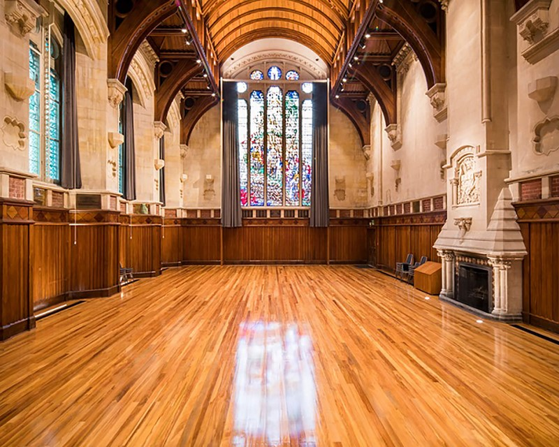The Arts Centre Great Hall Empty