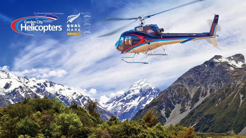 "Fly over ""Lord Of The Rings"" country to Mt Cook, New Zealand's tallest mountain."