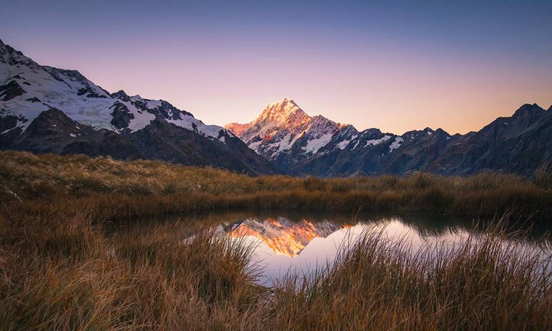 Mackenzie Sealy Tarns Aoraki Mount Cook photo by Rachel Stewart